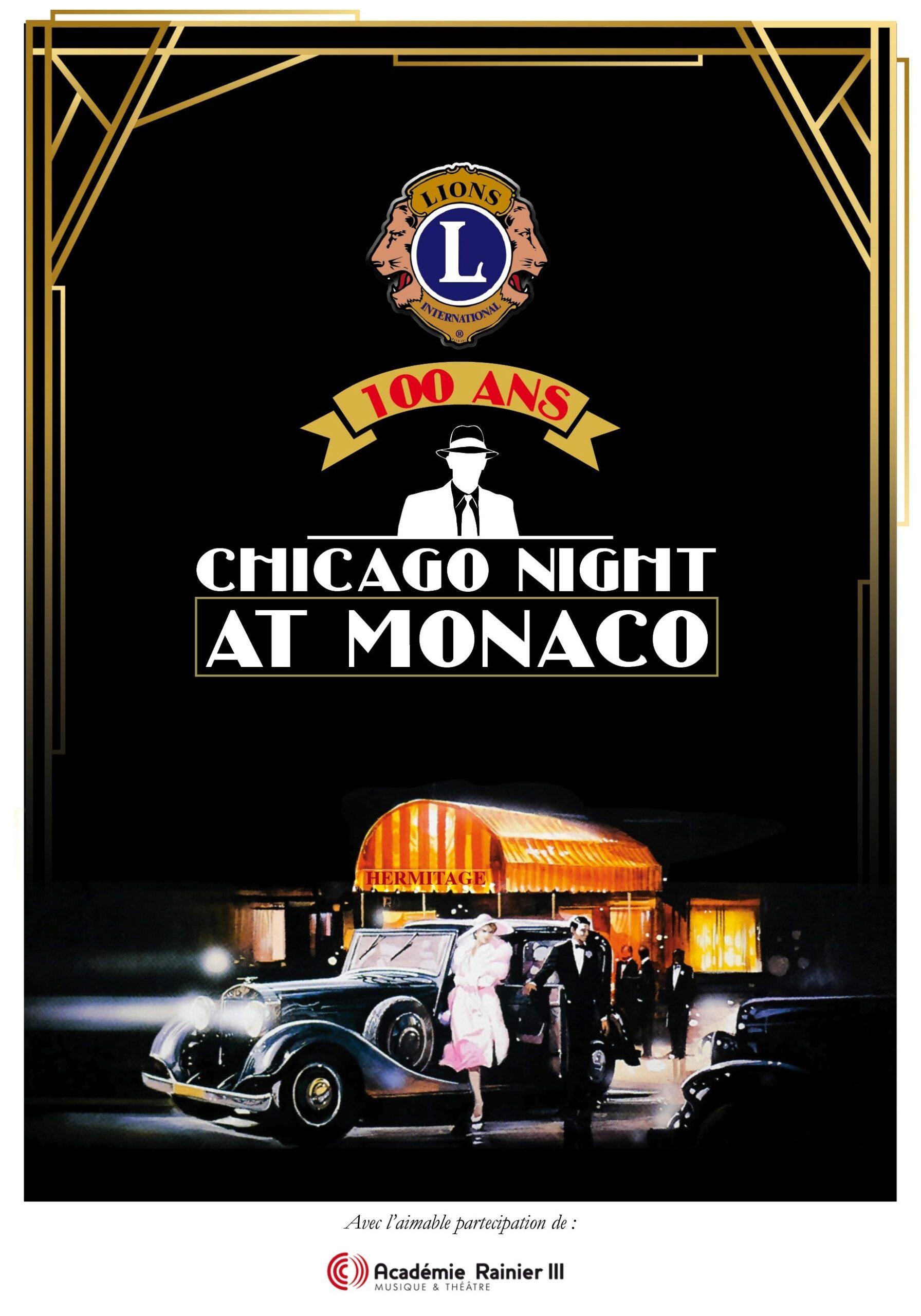 CHICAGO NIGHT – 100 ANS DU LIONS CLUB INTERNATIONAL