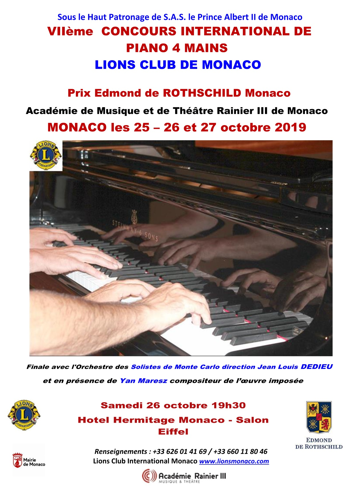 GALA DU CONCOURS INTERNATIONAL DE PIANO À 4 MAINS