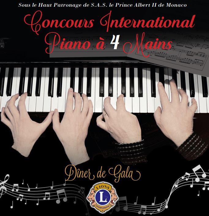 CONCOURS INTERNATIONAL DE PIANO À 4 MAINS